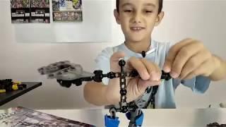 Сборка конструктора роботы- Биониклы
