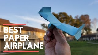 BEST PAPER A RPLANE   How to make a Spaceship Paper Plane  Sonic Wing X