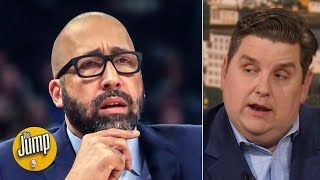 I was mildly surprised the Knicks didn't fire David Fizdale today - Brian Windhorst | The Jump