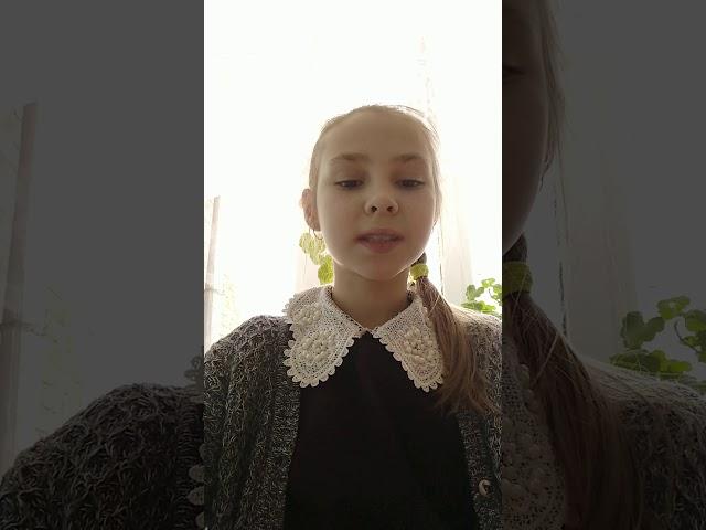 Изображение предпросмотра прочтения – СофьяОгородникова читает произведение «На бульваре» М.И.Цветаевой