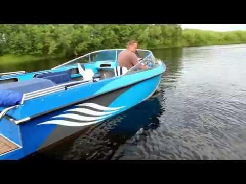 тест-драйв катера Argest