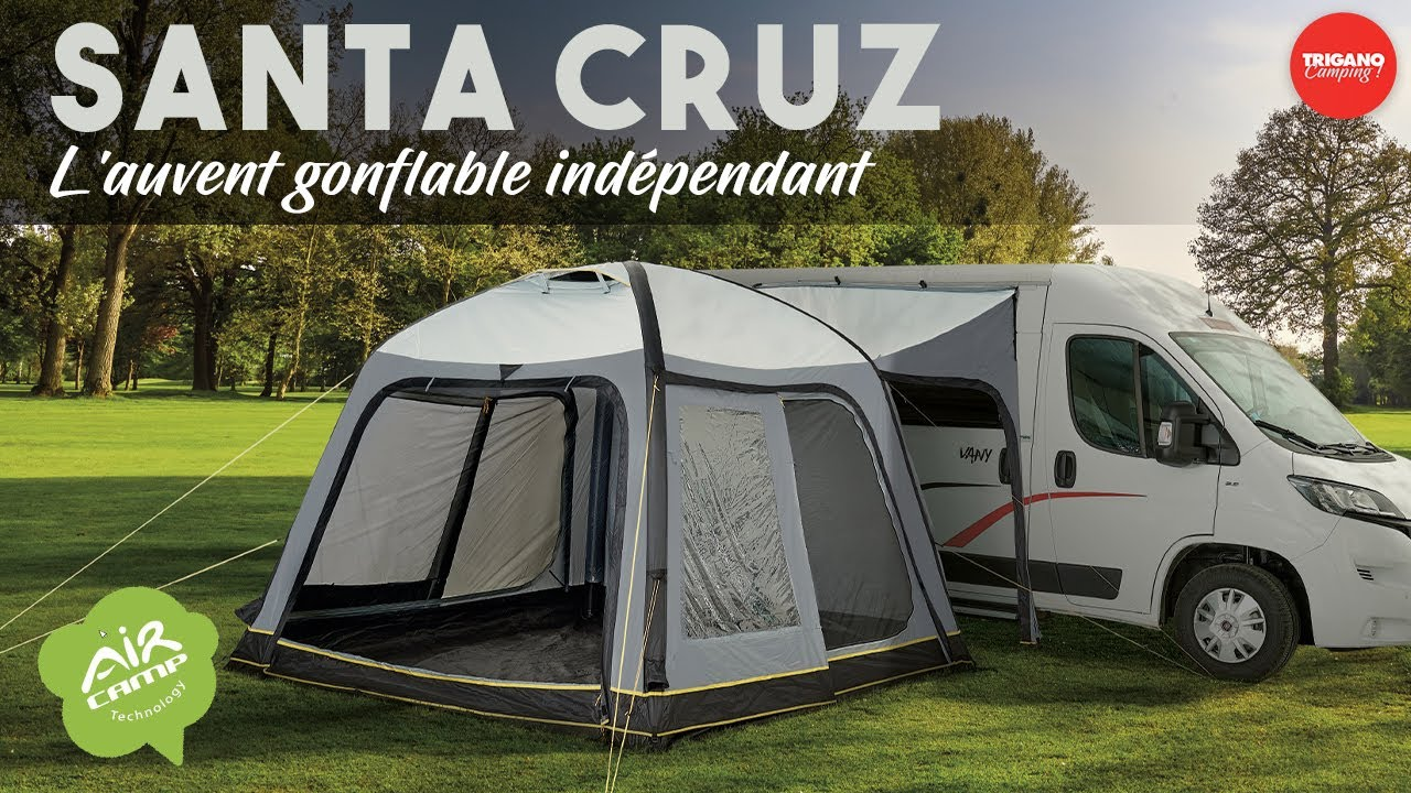 le santa cruz l auvent gonflable independant pour camping cars