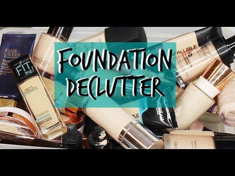 FOUNDATION DECLUTTER | 2017