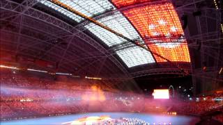 National Anthem Singapore Majulah Singapura SEA Games Opening Ceremony 2015