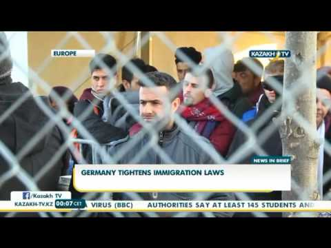 Germany tightens immigration laws - Kazakh TV
