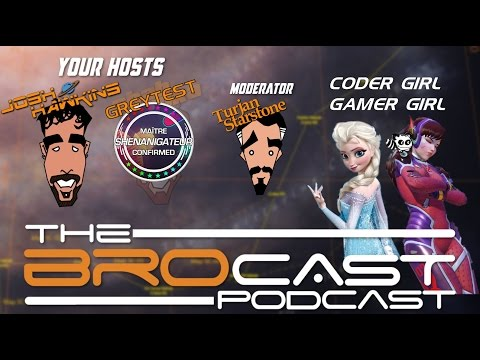 The Brocast - Girls in Gaming Culture and Elite Dangerous, With special guests - Rhea & Jezza