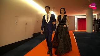 Aloysius Pang in Star Awards 2018 Red Carpet