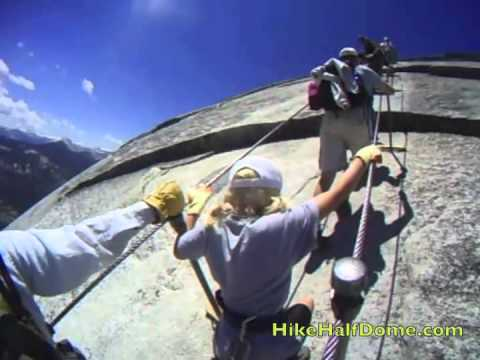 Half Dome Cables ALL THE WAY UP