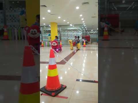 Naik Harimau di Palembang Trade Center