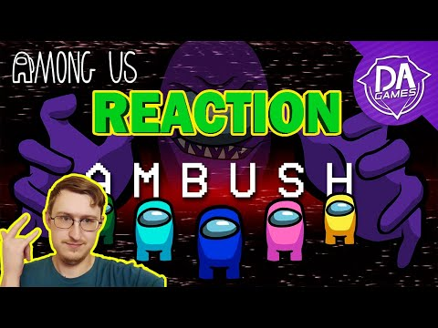 AMONG US SONG (Ambush) LYRIC VIDEO - DAGames | RUSSIAN REACTION