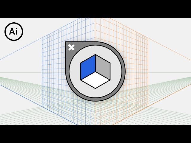 How to HIDE the Perspective Grid | Illustrator Tutorial