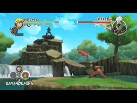 Naruto Shippuden: Ultimate Ninja Storm 2 Boss Battle 1 - Kakashi (Secret Factor) |
