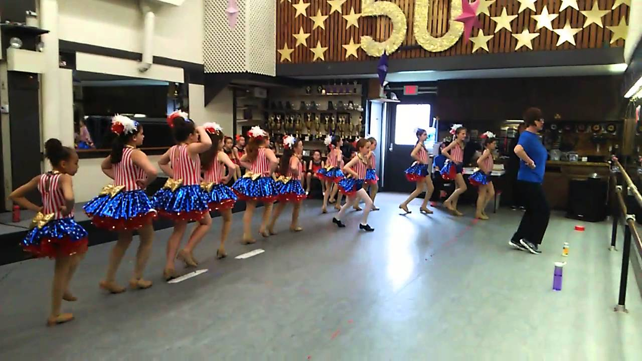 Paula Coffey dance center Shirleytemple  tap routine practice