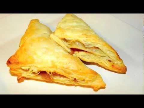 Apple Turnover Recipe - Flaky Fruity Cinnamon Pastry