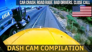 Car Crashes in America (USA) bad drivers, Road Rage 2017 # 6