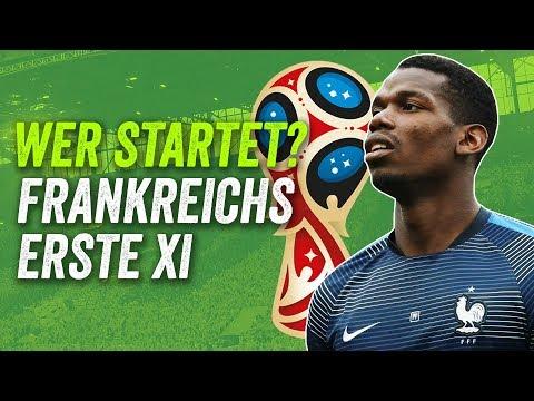 Wer startet? Mbappe, Kanté, kein Pogba!  - Frankreichs beste Aufstellung für die WM 2018!