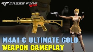 CrossFire - M4A1-Custom Ultimate Gold - Weapon Gameplay