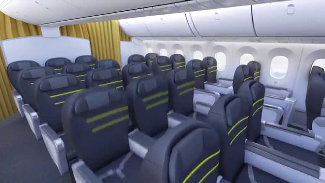 Scoot 787 Interior Cabin Sneak Peak   YouTube