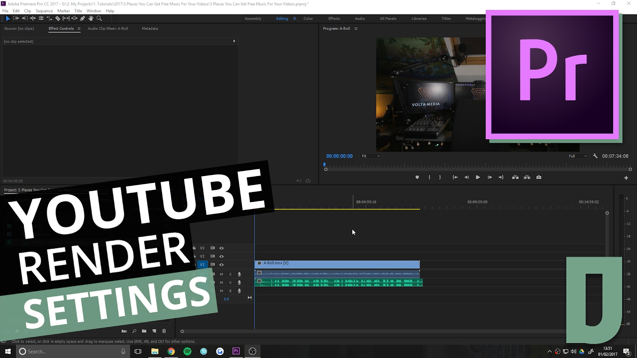 best youtube render settings in premiere pro youtube. Black Bedroom Furniture Sets. Home Design Ideas