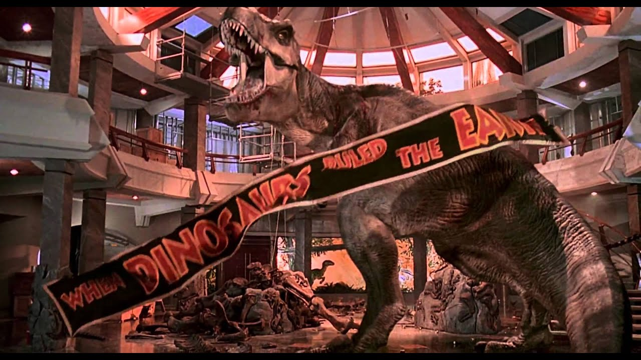 Image result for jurassic park when dinosaurs ruled the earth banner