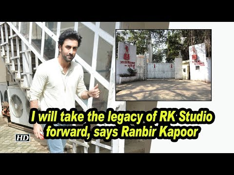 I will take the legacy of RK Studio forward, says Ranbir Kapoor Mp3