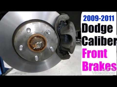 2009 2011 Dodge Caliber Front Brakes YouTube