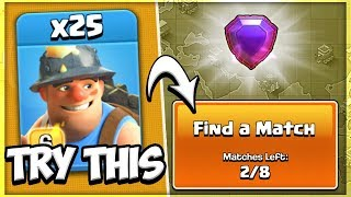 Can the Queen Charge Miner become the Best Town Hall 12 Legend League Army in Clash of Clans