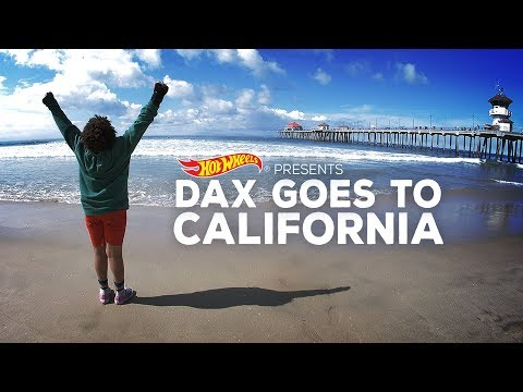 Hot Wheels Presents: Dax Goes To California!