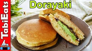 EASY MATCHA DORAYAKI ( Japanese Green Tea Pancakes Recipe )