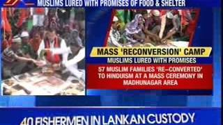 #ForcedConversion: Agra - 200 Muslims forced into 'reconversion'