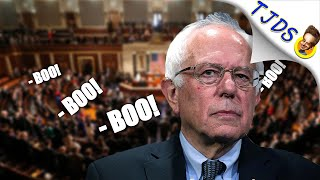 House Democrats Boo Bernie, He Answers With Why We Love Him