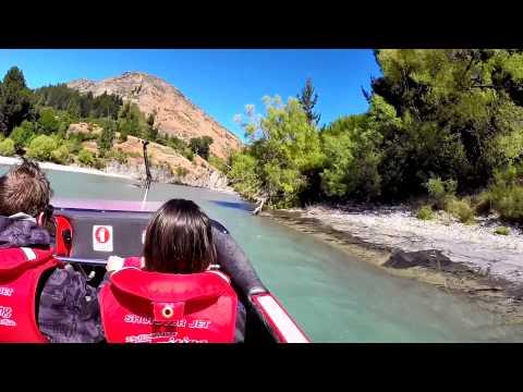 Shotover Jet Boat Whole Trip