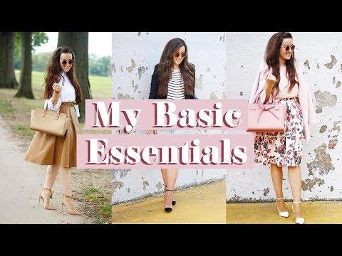 MY MODEST BASIC ESSENTIALS