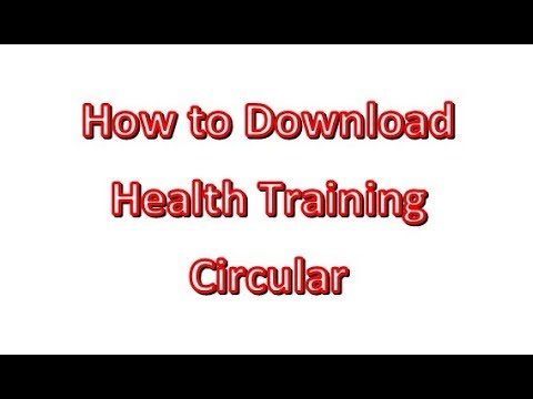 How to download Health Training Circular | Sri Lanka | Government |