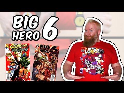"""Big Hero 6 (Baymax - Riesiges Robowabohu) - Ein Überblick über die Comics - """"Geblitzt"""""""