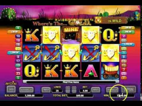 Wheres the Gold Online Pokies Slot Machine - Free Play Game Here