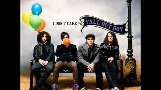 Fall Out Boy - I Don't Care (audio)
