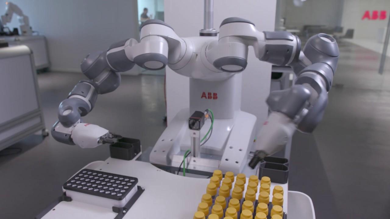 Five years of ABB's groundbreaking collaborative robot YuMi