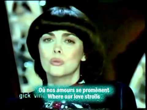 1981 Mireille Mathieu Nos Souvenirs French and English subtitles