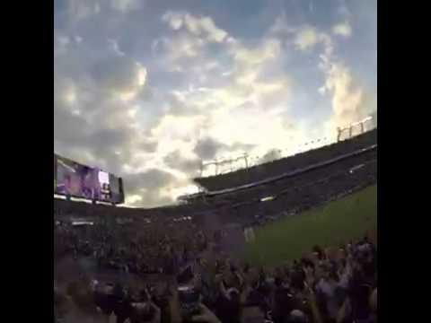 Orlando city sc celebrating kaká gol