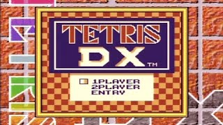 [GB] テトリス デラックス(Tetris DX) 40LINES