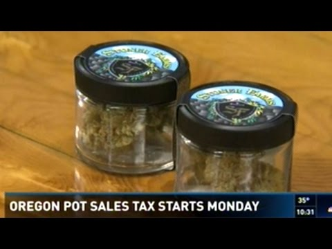 25% Sales Tax On Recreational Marijuana Starts Monday In Oregon