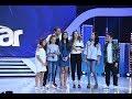Cei opt câștigători Next Star, în fața celor trei jurați