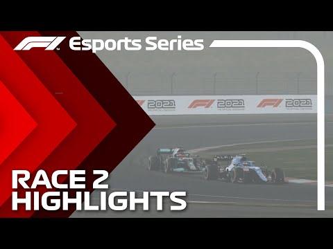 2021 F1 Esports Pro Championship: Race 2 Highlights