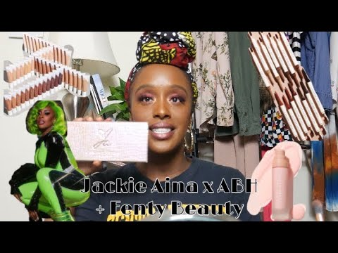 BYE ASHY: Fenty Beauty Hydrating Foundation & ABH x Jackie Aina Review thumbnail