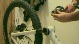 Solucionar crujido al pedalear