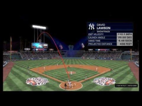 Grand slam to take a World Series lead