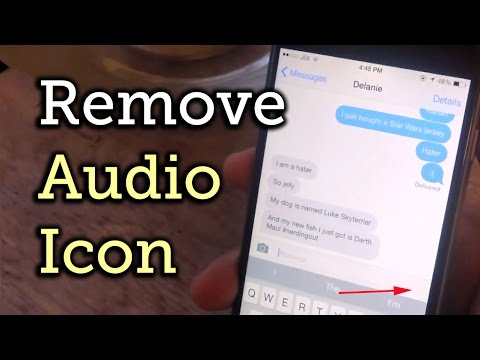 Remove the Audio Recording Button in the Messages App on iOS 8 [How-To]