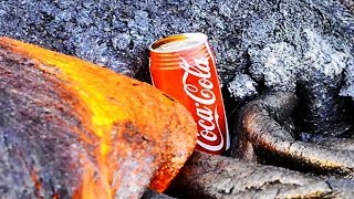 Coke Can on HOT LAVA Test