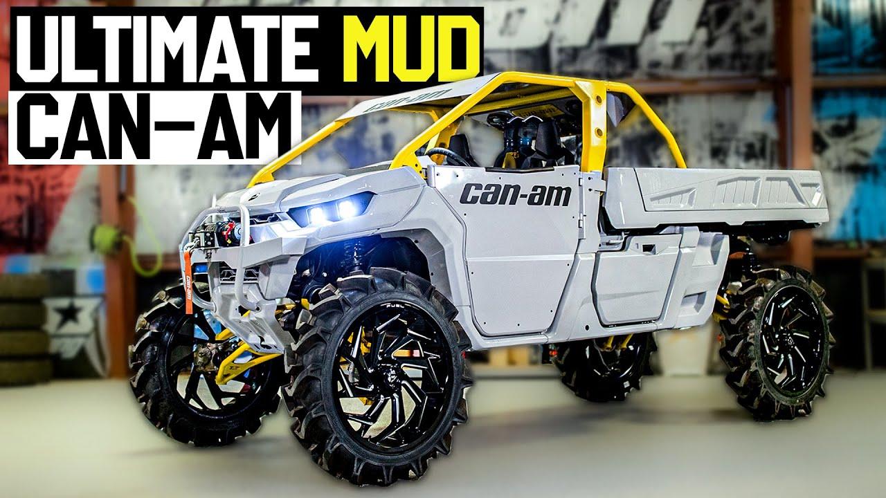 "Ken Block's ULTIMATE Mud Rig: 2021 Can-Am Defender Pro on 37""s - Pre Swamp Walkaround."